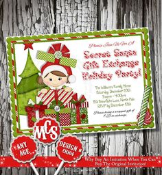 Your place to buy and sell all things handmade Christmas Photo Cards, Christmas Greeting Cards, Christmas Photos, Christmas Greetings, All Things Christmas, Holiday Cards, Mickey Mouse Christmas, Christmas Party Invitations, Diy Party
