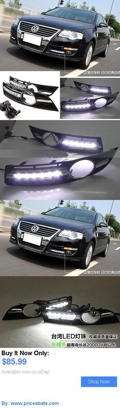 Motors Parts And Accessories: Led Driving Lamp Cover Daytime Running Light Drl For For Vw Passat B6 2006-2010 BUY IT NOW ONLY: $85.99 #priceabateMotorsPartsAndAccessories OR #priceabate