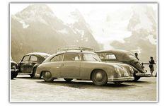 East German VW-Porsche 356 Porsche Cars, Porsche 356, Porsche Classic, Classic Cars, Volkswagen Beetles, Car Posters, School Style, Airstream, Concept Cars