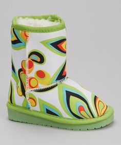 Boasting a water-resistant upper, faux fur lining and slip-on silhouette, these boots keep toes toasty on chilly days. Size note: This style runs large. DAWGS recommends ordering one size down. Cute Boots, Women's Boots, Nina Shoes, Stylish Boots, Kids Boots, Cool Kids, Slip On, Retro