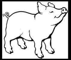 I want a cute little pig tattoo- I think this guy is adorable
