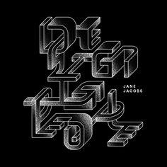 Design quotes with gorgeous type by Rafa Goicoechea
