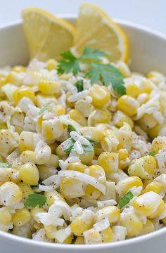 Herbed Sweet Corn and Tomato Salad | Recipe | Sweet Corn, Side Dish ...