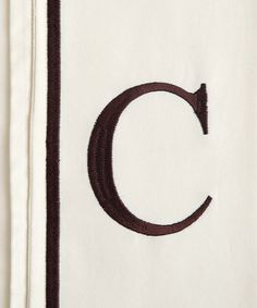 Love this Initial 'C' Pillowcase - Set of Two on #zulily! #zulilyfinds
