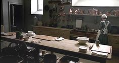 Downton Abbey, Kitchen Interior