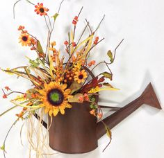 Large Sunflower Watering Can