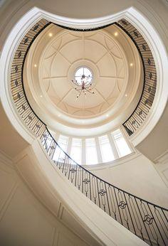 Classical Architecture, Interior Architecture, Interior Design, Wall Design, House Design, Rooftop Design, Ceiling Design Living Room, Hallway Designs, Ceiling Detail