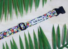 Did someone say FLOWER POWER? This colourful collar is bound to make your day a little bit brighter! Handmade with fabric to be softer on your dogs neck. Our collars include heavy duty hardware and also nylon webbing for our bigger four-legged friends (sizes M-XL). Suss out our