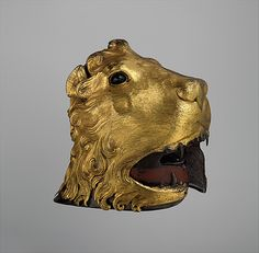 Helmet in the Shape of a Lion's Head  Date: about 1460
