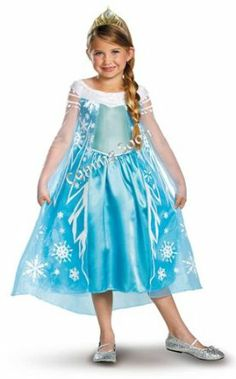 Disguise Disney's Frozen Elsa Deluxe Girl's Costume. For order or details click on the image!