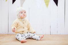 Wool sweater for children, merino wool / Yellow hand knitted cardigan for baby - boy - toddler - kids/ Children sweater, top, jacket