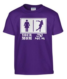 Your Mom - My Mom KIDS Derby T-Shirt