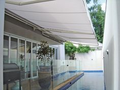 Outdoor Awnings Keep The Weather Out So You Can Use Your Balcony Patio Or Deck
