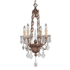 Camille 4-Light Chandelier 1
