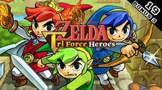 The Legend of Zelda: Tri Force Heroes Part 19 (Bonus 3) - The Art of Me ...