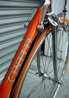 Cinelli - i don't see much Campagnolo hardware here