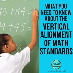 Vertical alignment in math curriculum is essential in the education field. Students starting in kindergarten or first grade and all the way through need to have a cohesive education experience using similar vocabulary and terminology. It's the only way for students to be able to develop deep connections and understandings of math content. #verticalalignment #mathcurriculum #elementarymath