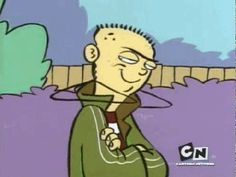 Ed Edd N Eddy gif. I miss this show!! D: I think I actually tried this once. Never again.
