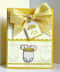 card layout to CASE using CTMH wide striped Grosgrain ribbon