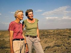 Extraordinary women  Louise and Meave Leakey - Paleoanthropologists, Grandparents Louis and Mary Leaky discovered human remains in Tanzania's Olduvai Gorge proving that Africa was the birthplace of humankind