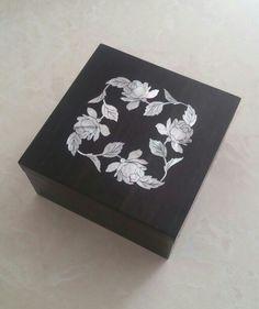 mahmut kumru -Mother of pearl inlay box