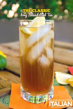The Classic Long Island Iced Tea