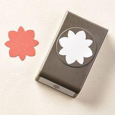 stampin up flower medallion punch