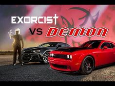 Demon vs Exorcist , who would win? Camaro Zl1, Chevy Camaro, Chevrolet, The Exorcist, Dodge Challenger, Car Brands, General Motors, Ms Gs, Impala