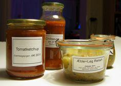 Ketchup, Relish  & Chili by Grøntsagspigen, via Flickr