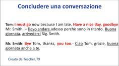 inglese base - concludere una conversazione