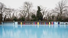 """Tooting Bec Lido, London"", United Kingdom, Campaign, by Jonathan Syer"