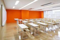 classroom design: emmanuelle moureaux: technical chef college utsunomiya
