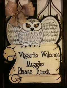 Check out this item in my Etsy shop https://www.etsy.com/listing/261884145/harry-potter-inspired-door-hanger-to