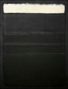 Mark Rothko [20/12/13] I love the indication of light.