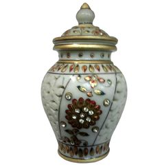 Marble Pot Vases Providing you the best range of Planters Pots And Vases such as Black Embossed Vase, Black Engraved Vase, Marble Flower Vase, Rectangle Shaped Vase, Golden Color Vase and Black Pot with effective & timely delivery. Marble Pot Vases come in variety of shapes and designs and are primarily used to keep fresh or artificial flowers. Blue pottery vases can add lot of color to the living room or bed room.