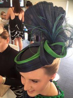 Jinsin headpiece BY HELEN VARCOE  #millinery #hatacademy