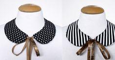 [DIY] Two sides peter pan collar | FashionRolla: [DIY] Two sides peter pan collar