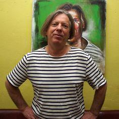 Gazmend Freitag Biography Comic Art, Popular Paintings, Three Daughters, German Girls, Oil Portrait, Artist Life, Art Fair, Oil Painting On Canvas, Linz