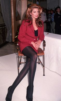 21 Incredible Vintage Photos of Cindy Crawford to Celebrate Her Retirement - 21 Incredible Vintage Photos of Cindy Crawford to Celebrate Her Retirement Cindy Crawford – The Ultimate Fashion & Beauty Icon – legs for DAYS Grunge Fashion, 80s Fashion, Trendy Fashion, Fashion Models, Fashion Beauty, Vintage Fashion, Fashion Outfits, Womens Fashion, Celebrities Fashion