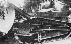 Renault FT buldozer.