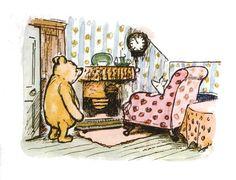Winnie-the-Pooh by A. Milne Original Illustrations by E. Shepard An Unabridged Reading Cast Pooh: Stephen Fry Piglet: Jane Horrocks Eeyore: Geoff. Winnie The Pooh Quotes, Winnie The Pooh Friends, Disney Winnie The Pooh, Disney Love, Eeyore, Tigger, Tao Of Pooh, Photo Vintage, Vintage Art