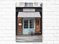Foodie Travel 512636370075506824 - Paris Cafe Photograph, Malabar Cafe, Large Wall Art, French Kitchen Decor… Source by abigailtsouints Coffee Shop Design, Cafe Design, Design Design, Design Trends, Rustic Table And Chairs, French Kitchen Decor, French Cafe Decor, Country Kitchen, Paris Kitchen