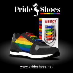 LGBT rainbow Pride shoes. Best trainers to show your Pride