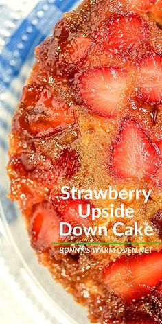 Food Cakes, Cupcake Cakes, Cupcakes, Easy Desserts, Delicious Desserts, Yummy Food, Strawberry Upside Down Cake, Strawberry Desserts, Best Ever Strawberry Cake Recipe