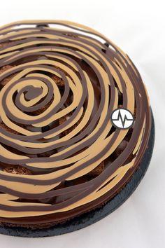 "Fantastik ""Spirale infernale"" (Chocolat, Gianduja) by Christophe Michalak..."