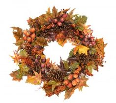 2013 New Fall Wreaths and Decor - Check out our brand new #FallWreaths and other fall decor added to our Autumn Harvest Collection in our blog post!