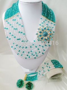 Find More Jewelry Sets Information about 2014 Rushed Freeshipping Classic Women Crystal Jewelry Sets New Arrived Nigeria Jewelry Set Necklace Africa Beads Set	aaa38 ,High Quality Jewelry Sets from Andy Africa, the americas, Europe, the wedding jewelry store on Aliexpress.com