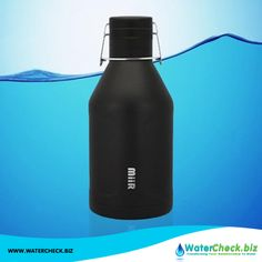 Our MiiR Vacuum Insulated Growler #WaterBottle is sweat proof, freeze proof and can hold a whopping 64 oz of liquid. Know more features