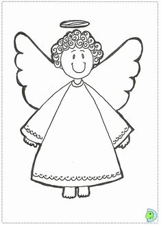 Angel Coloring Pages for Kids. 20 Angel Coloring Pages for Kids. Angel Coloring Page for Teens and Adults Nativity Coloring Pages, Angel Coloring Pages, Easy Coloring Pages, Coloring Sheets For Kids, Coloring Books, Adult Coloring, Christmas Present Coloring Pages, Printable Christmas Coloring Pages, Christmas Printables