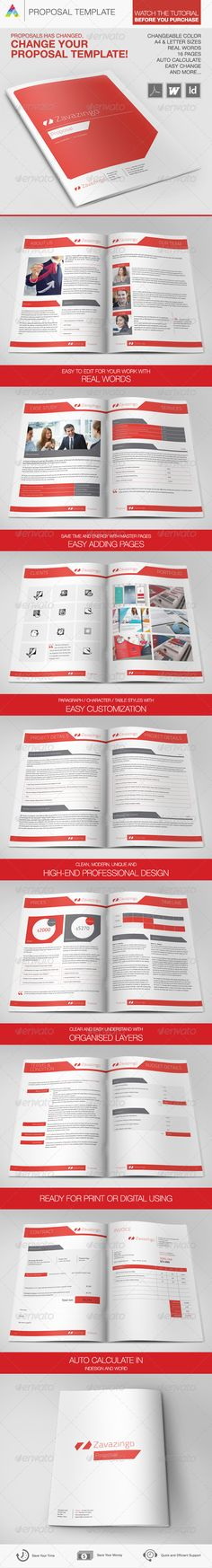Proposal Template Proposal templates, Proposals and Business - free business proposal template download